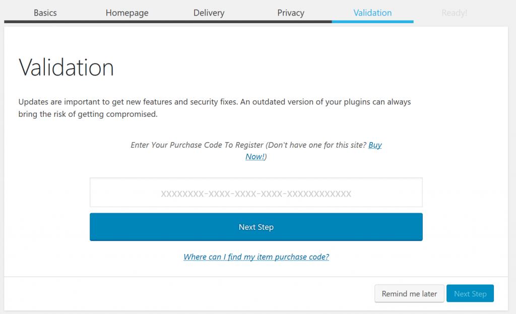 이메일 플러그인 mailster 설치_ Validation 구입 인
